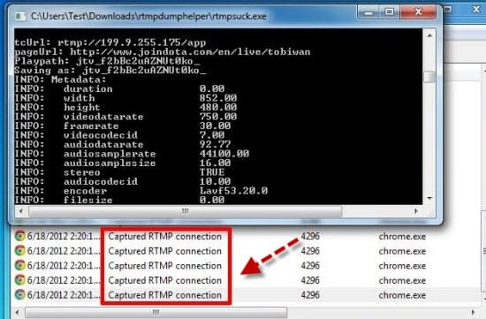 RTMP download