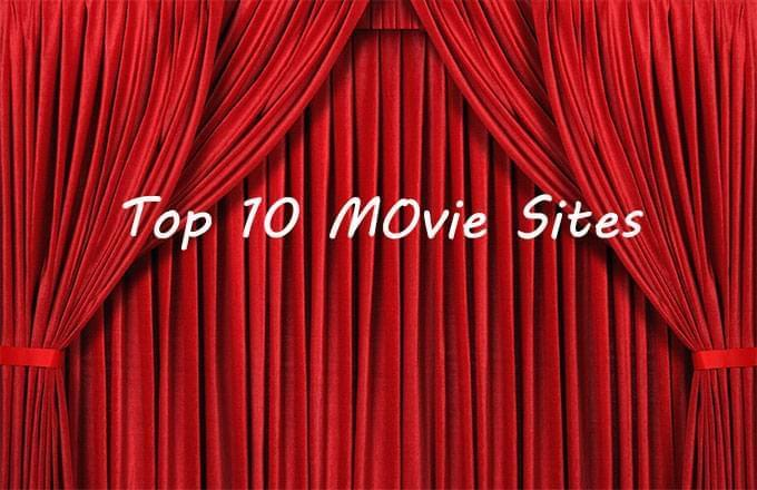 Top 10 movie sites