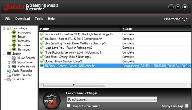 Jaksta Online Media Downloader