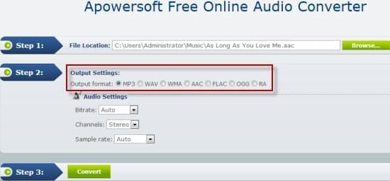 online convert audio for mac