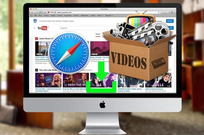 Download YouTube in safari