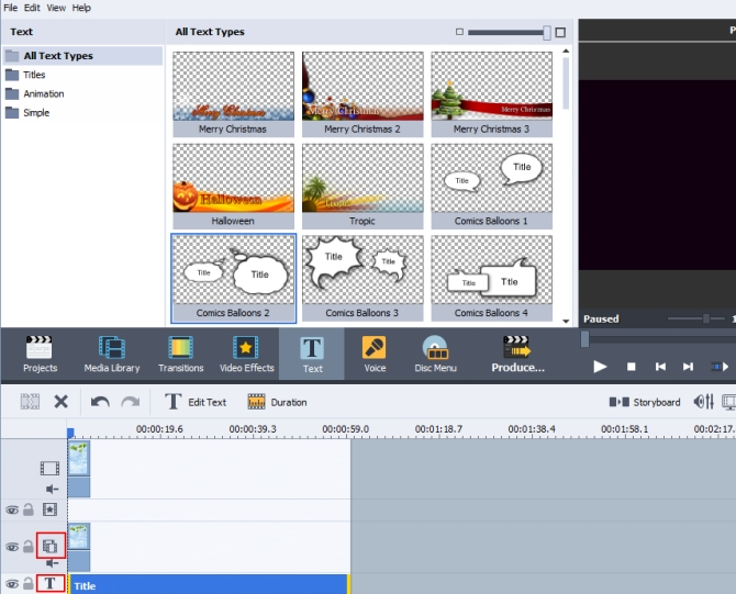 Video overlay software