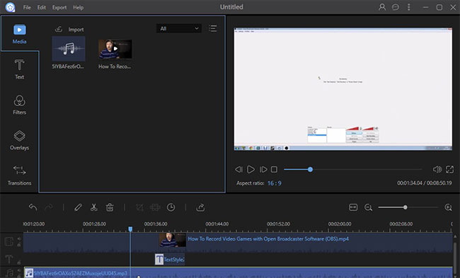 tutorial video editor