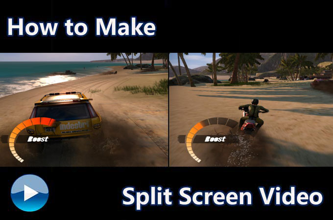 how to make split screen videos