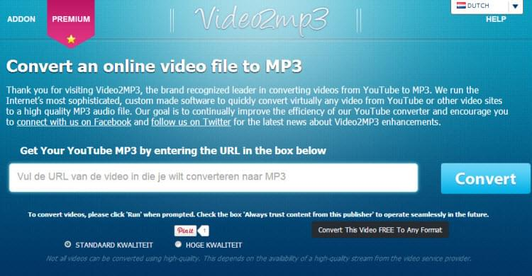 transformar video de youtube a mp3