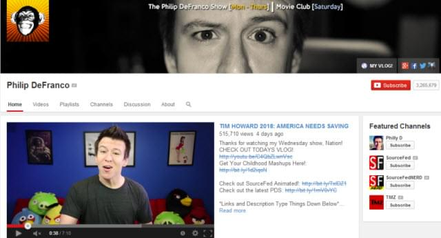 philipdefranco channel