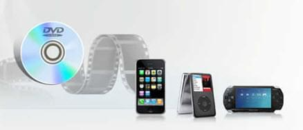 grab DVD to portable devices