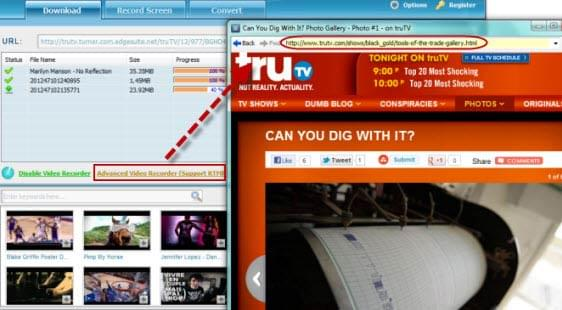 software to download protected videos from TruTv