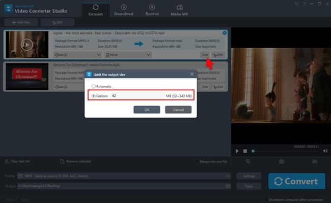 How to reduce video file size the easy way video converter studio ccuart Images