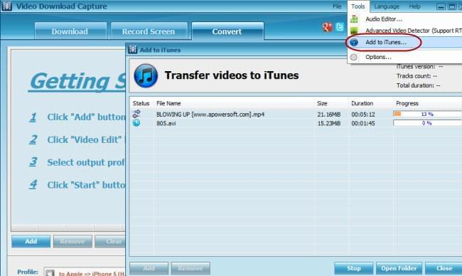 video to iphone transfer
