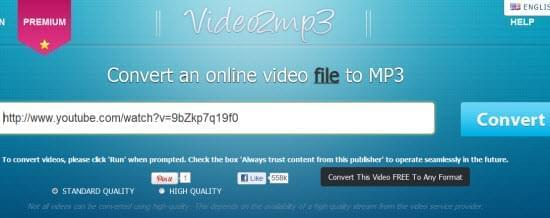 video2mp3 logo