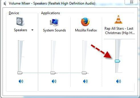 Enable volume mixer