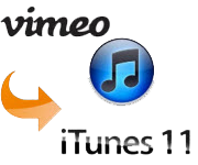 Vimeo to iTunes