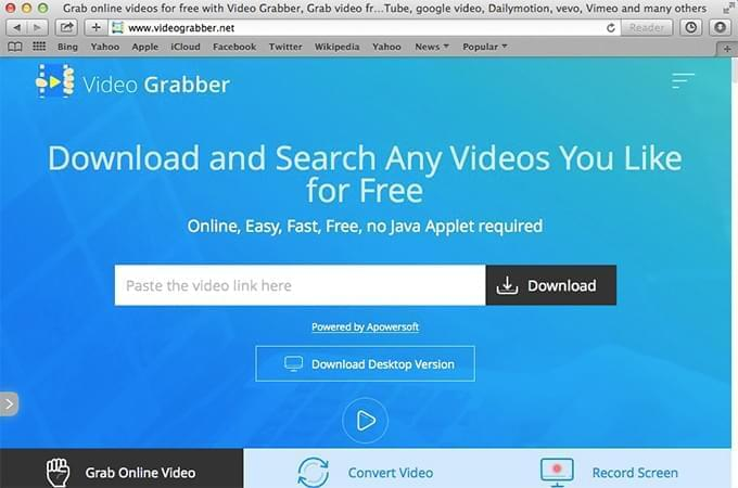 Download videos from safari
