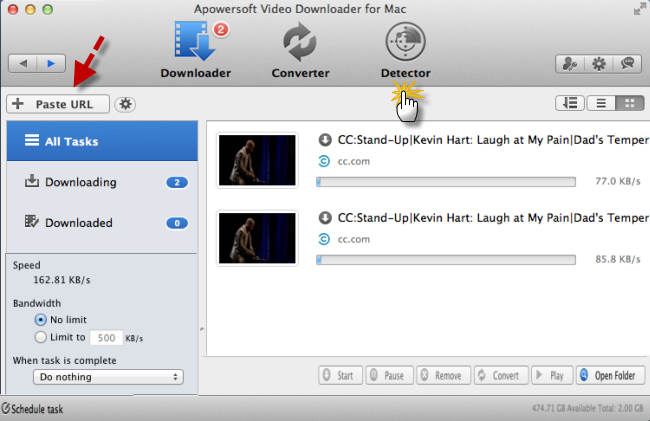 Download comedy on Mac