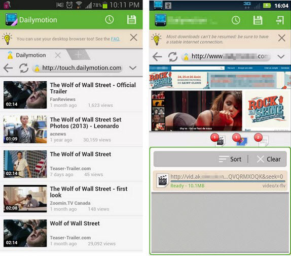 AVD video downloader for Android