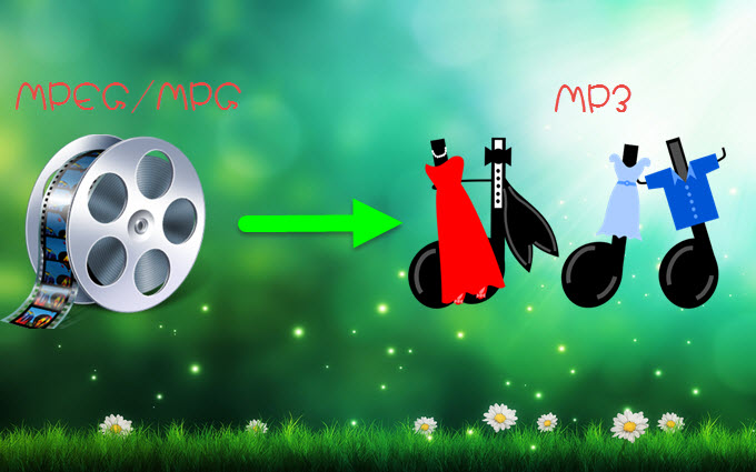 Convert MPEG/MPG to MP3