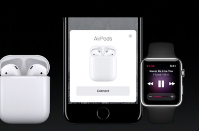 connect to AirPods