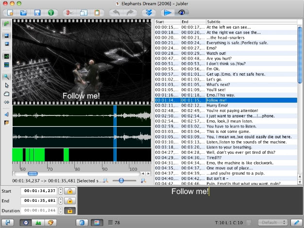 The best subtitle software for mac you must like mac subtitle editor ccuart Gallery