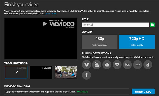 wevideo download