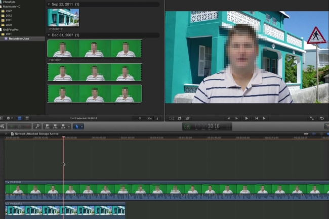 green screen video editing software