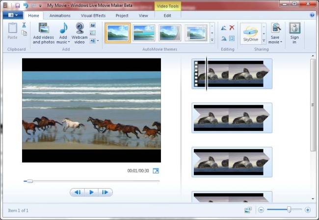 edit vlog windows movie maker