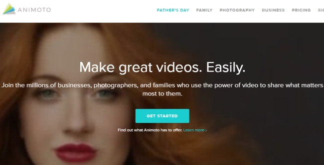 animoto create photo video