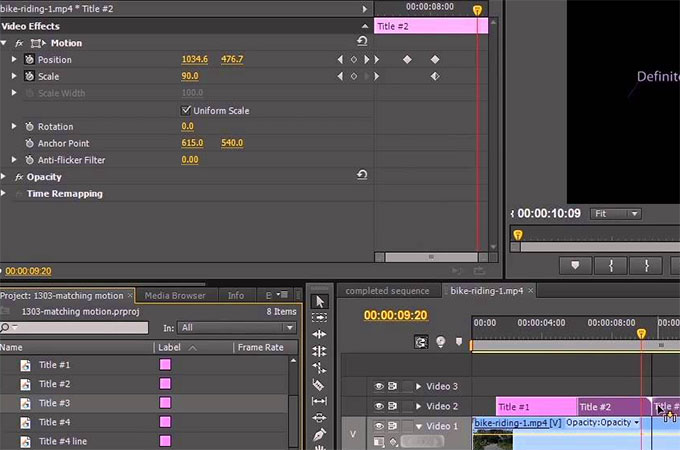 premiere motion tracking