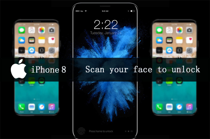 Scan your face to unlock