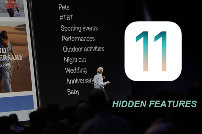 hidden features in ios 11