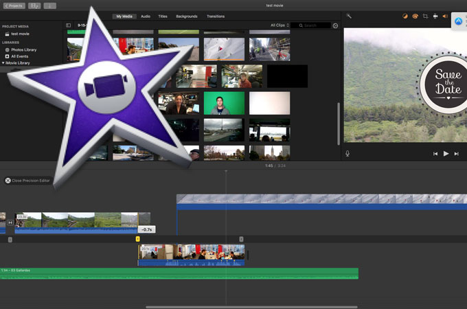 imovie save the date